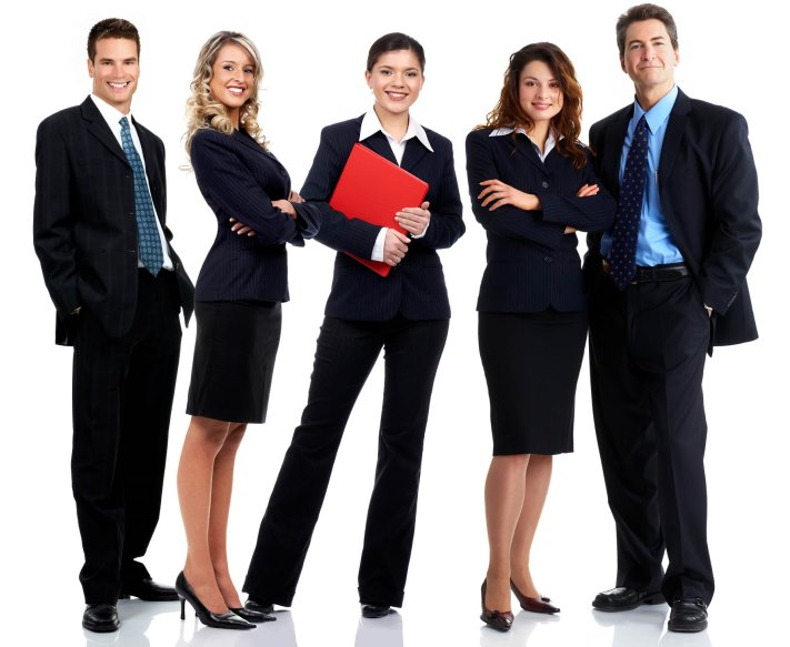professional group of five for web