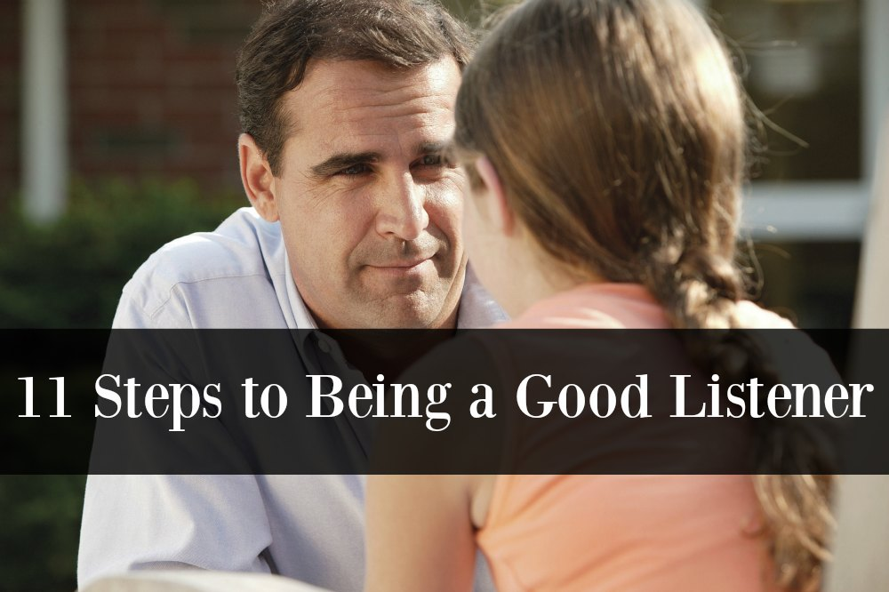 11 Steps to Being a Good Listener
