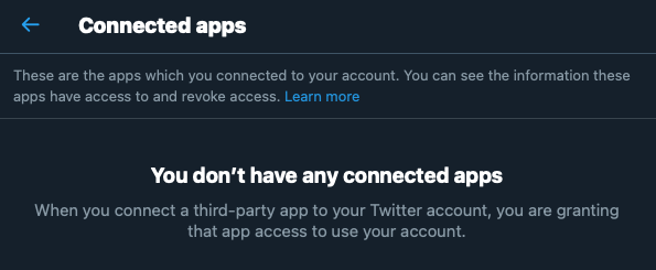 Revoke App Permissions on Your Twitter Account